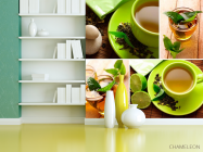 Фотообои Зелёный чай - 3