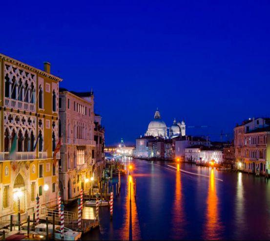 Фотообои Ночная Италия 8068