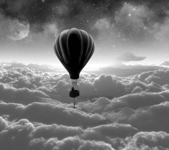 Фотообои воздушный шар 19746-h