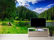 Фотообои озеро и лес - 2