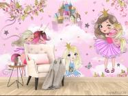 Фотообои Принцессы для девочки - 4