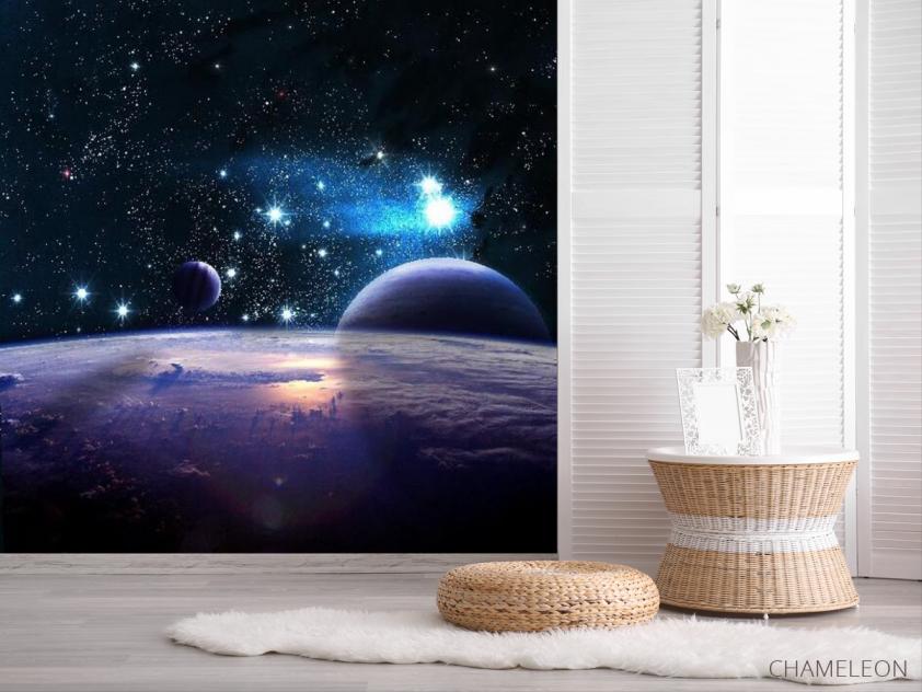 Фотообои Звездные планеты - 2