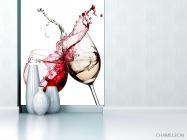 Фотообои красное и белое вино - 1