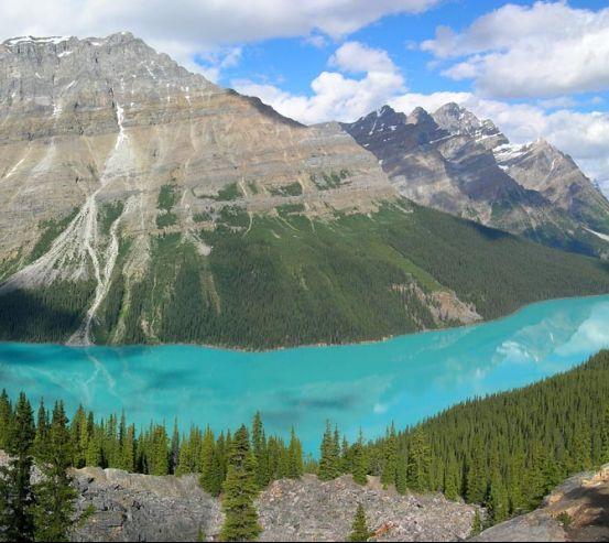Фотообои Озеро в горах 0419