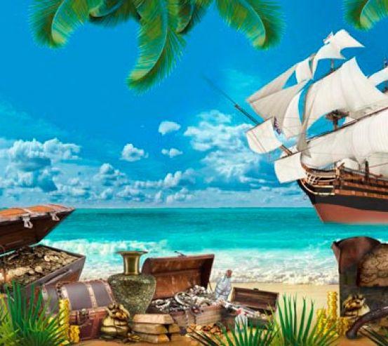 Фотообои Остров пиратов 19615