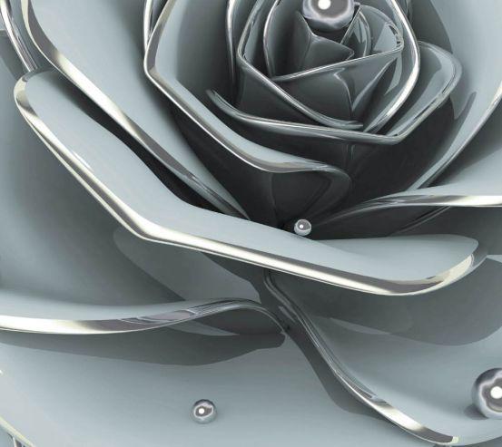 Фотообои Цветок барельеф 24993