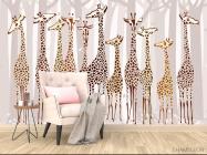 Фотообои Жирафы - 4