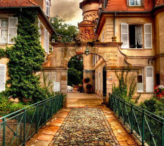 Фотообои Старый город 12714