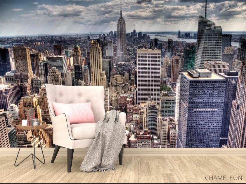 Фотообои Тучи свет New York - 4