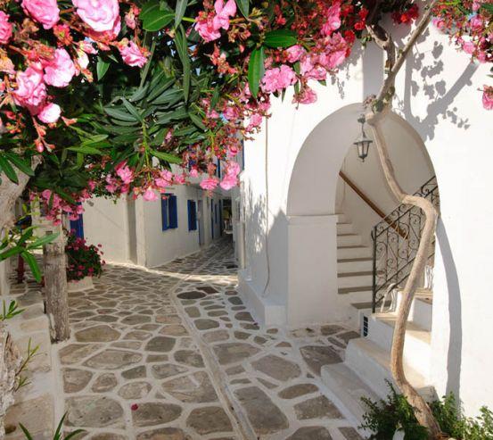Фотообои Улочки Греции 22154