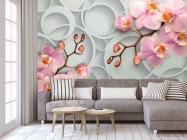 Фотообои Розовые орхидеи - 3