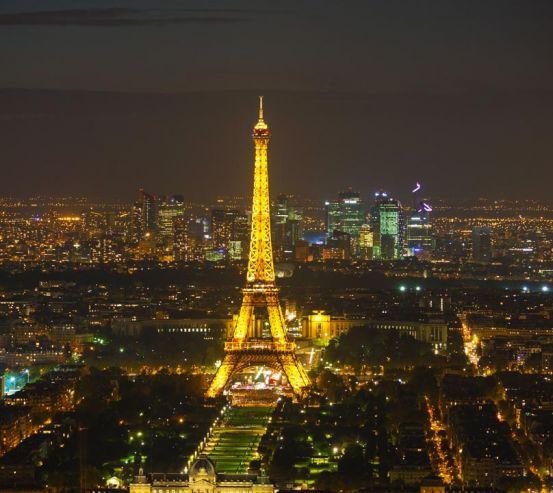 Фотообои ночной Париж 20832