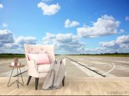 Фотообои небо над взлетной полосой - 4