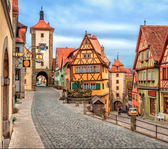 Фотообои Старый город в Баварии 10835