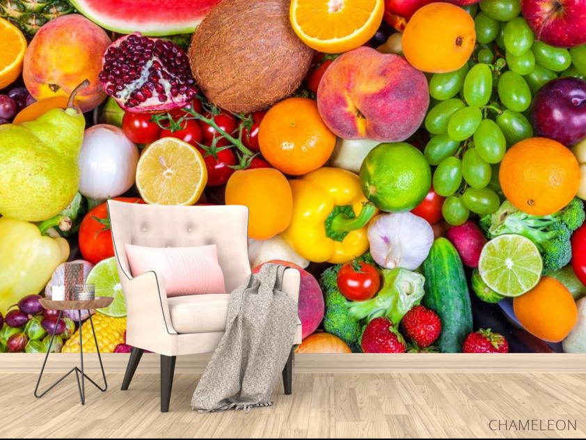 Фотообои фрукты и овощи - 4