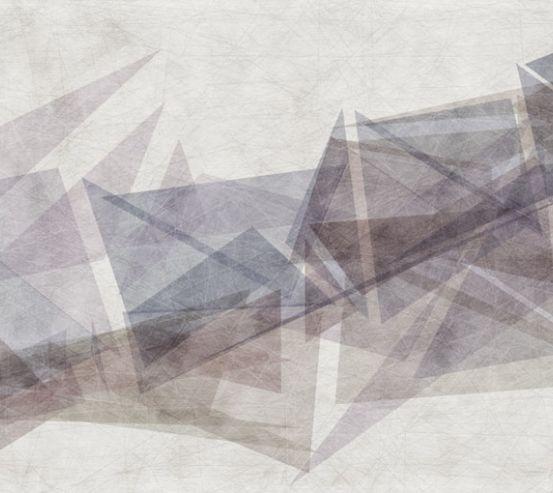 Фотообои Треугольники в композиции 22923