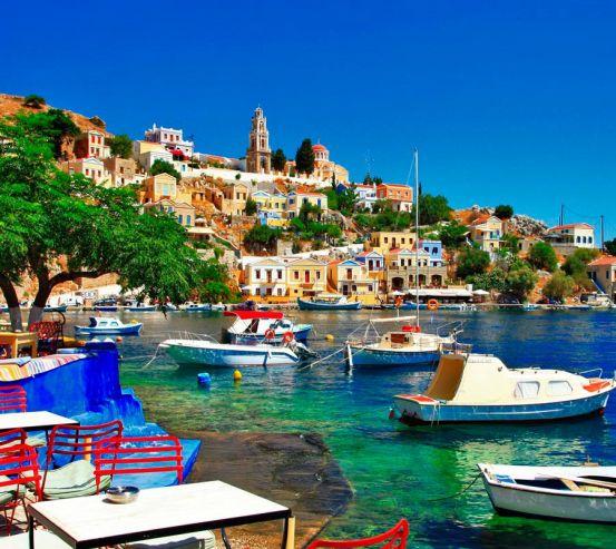 Фотообои о. Санторини, Греция 13013