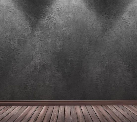 Фотошпалери сіра стіна з підсвічуванням 21548