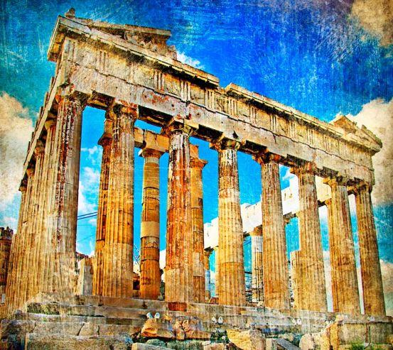 Храм Афіни , Греція 4623