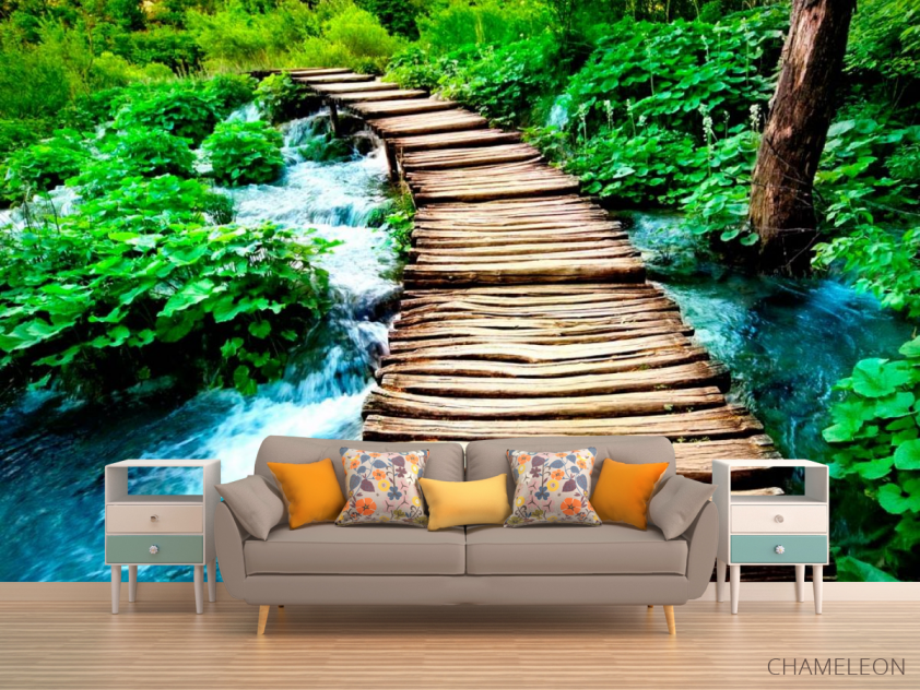 Фотообои Вода и мост - 1