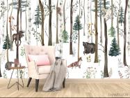 Фотообои Звери в лесу - 4