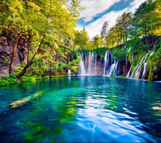 Фотообои Пейзажный водопад 25988