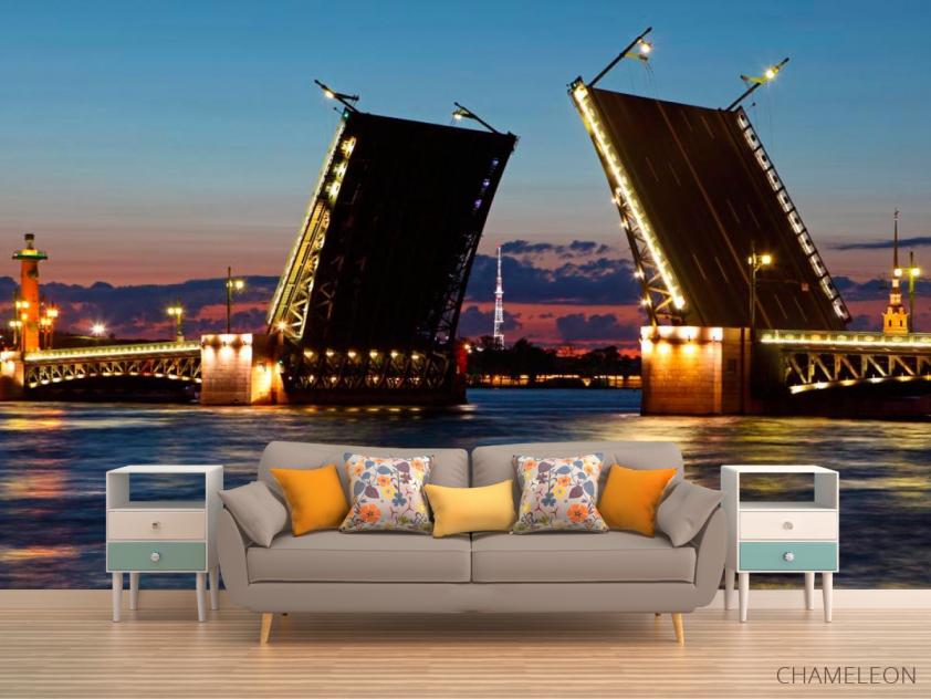 Фотообои Мост в Санкт-Петербурге - 1