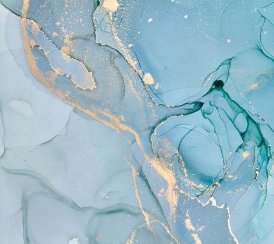 Фотообои Голубой Fluid art 27823