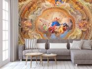 Фотообои Античная фреска на потолок - 3