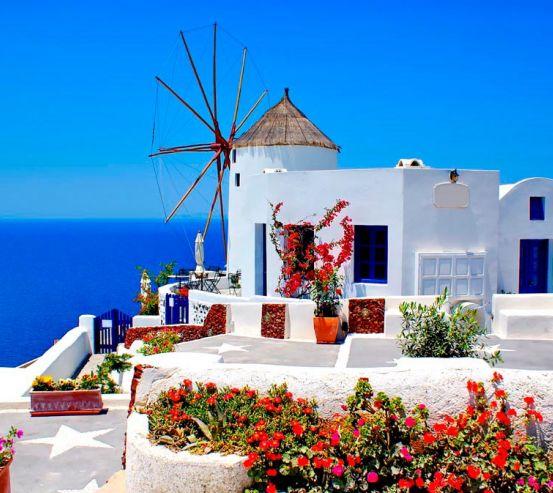 Фотообои о. Санторини, Греция 0673