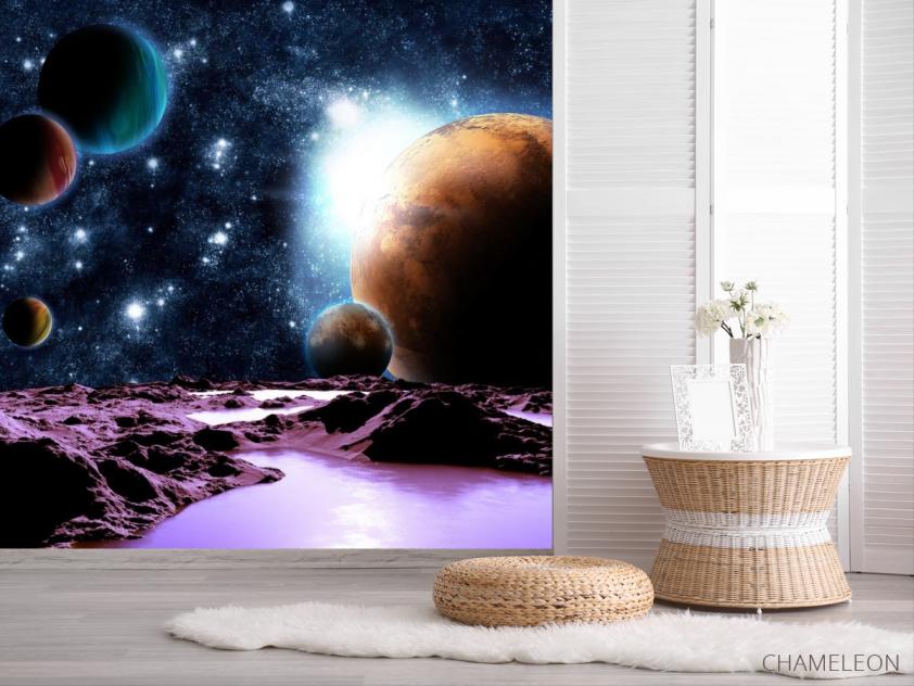 Фотообои 6 планет - 2