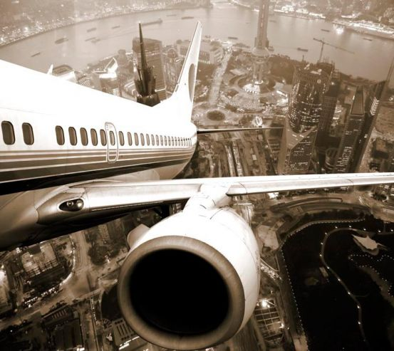 Фотообои Крыло самолета 5805