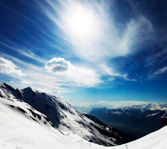 Фотообои Спуск в горах 7211