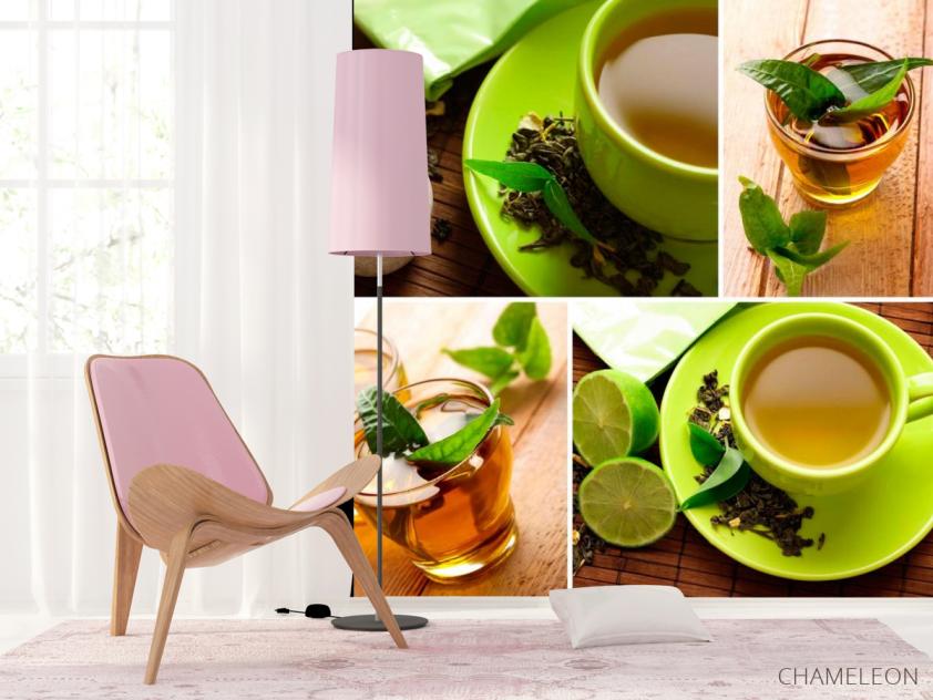 Фотообои Зелёный чай - 4