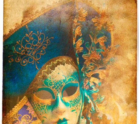 Картнавальная маска 5348