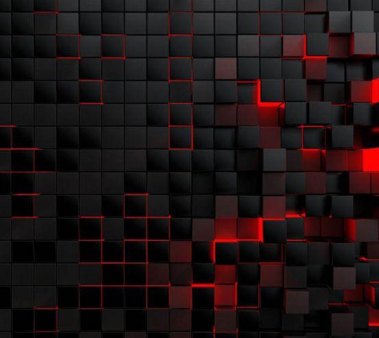 Фотообои 3д стена из квадратов 29409