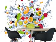 Фотообои фрукты и вода - 1