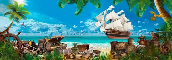 Фотообои Остров пиратов