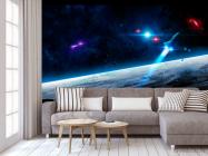 Фотообои Шатл и астероиды - 3