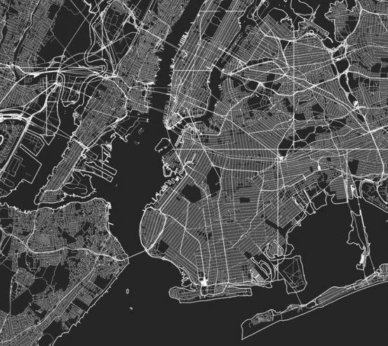 Фотошпалери Карта в офіс 27745