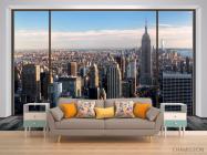 Фотообои Вид из окна, город - 1