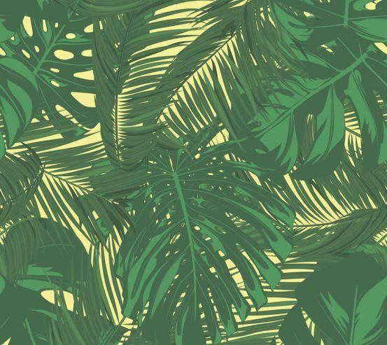 Фотообои Векторные листья 23079